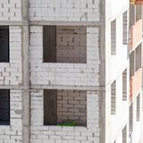 Construction of an apartment house Stock Photography
