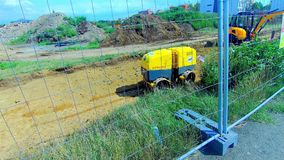 Modern Building Machines, Construction, Apartments. Construction, Apartments, Modern Building Machines stock video footage