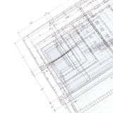 Construction in architecture royalty free stock photos