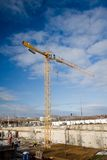 Construction area detail Royalty Free Stock Photography