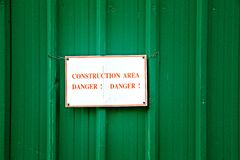 construction area royalty free stock image