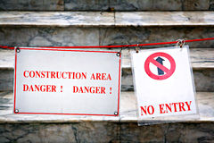 Construction area Stock Photography