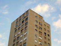 Construction avec des appartements Image libre de droits