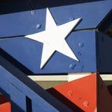 Construction avec le thème patriotique Image stock