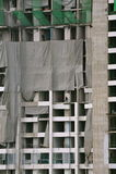 Construction ayant beaucoup d'étages Images stock