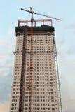 Construction ayant beaucoup d'étages images libres de droits
