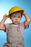 Construction baby Stock Images