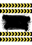 Construction background. With black splatter eps Royalty Free Stock Photos