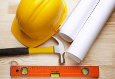 Construction background Stock Images