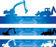 Construction background Stock Photography