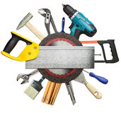 Construction background Royalty Free Stock Images