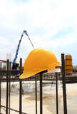 Construction background Royalty Free Stock Photos