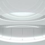 Construction Background - empty corridor. 3d illustration royalty free illustration