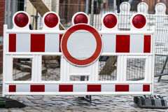 Construction Barrier Stock Images