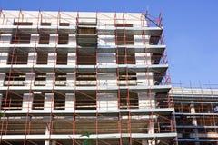 Construction beams. On Concrete Construction Stock Photo
