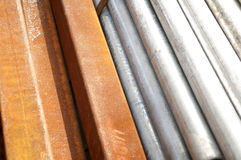 Construction Beams and tube Royalty Free Stock Image