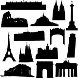 Construction bien connue en Europe Photos stock