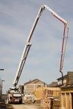 Construction Boom. Concrete pump toronto Stock Photography