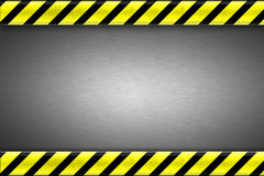Construction borders background Stock Photography