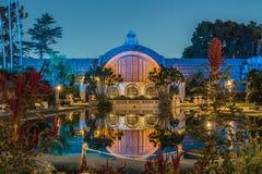 Construction botanique de stationnement de balboa photographie stock libre de droits