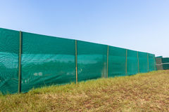 Construction Boundary Blinds Stock Image