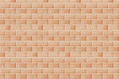 Construction. Brick wall. Wall of a house from a brick. A background Royalty Free Stock Photography