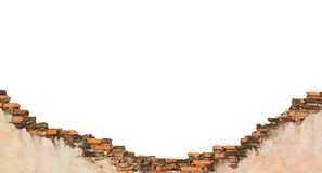 Construction brick wall. Royalty Free Stock Images