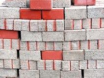 Construction bricks Royalty Free Stock Photo