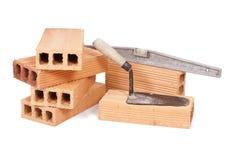 Construction bricks Royalty Free Stock Images
