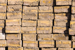 Construction bricks background Stock Image