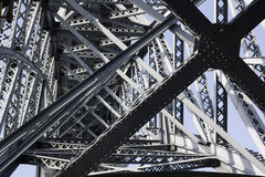 Construction bridge Royalty Free Stock Image