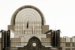 Construction Bruxelles du parlement d'UE Images libres de droits