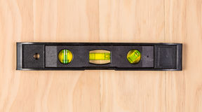 Construction bubble spirit level tool Royalty Free Stock Image