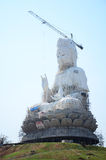 Construction and Build Bodhisattva Goddess Statue Royalty Free Stock Photos