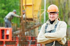 Construction builder worker Royalty Free Stock Photography
