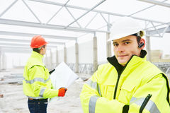 Construction builder workers stock photos