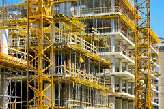 Construction building Royalty Free Stock Photography