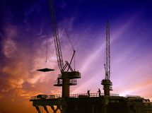 Construction of a building Royalty Free Stock Image