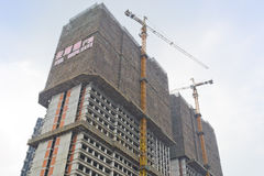 Construction of building Royalty Free Stock Photo