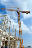 Construction of building Royalty Free Stock Images