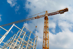 Construction of building Royalty Free Stock Photography