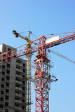 The construction of the building Stock Images
