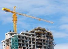 Construction, building, development, constructing. Construction of houses intresting Stock Photos