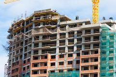 Construction building development, constructing Royalty Free Stock Photos