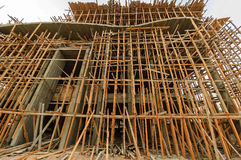 Construction of building in Hughada. Egypt Royalty Free Stock Image