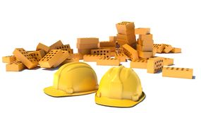 Construction and building industry concept Stock Photography
