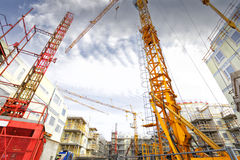 Construction and building industry Stock Image