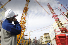 Construction and building industry Stock Photos