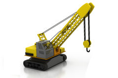 Construction building machine Stock Photography
