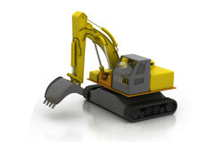 Construction building machine Royalty Free Stock Image
